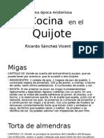 carta quijote