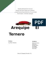 El Arequipe Historia