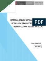 Modelos de Transporte de Lima y Callao