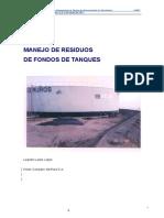 Manejo Residuos fondo tk´s- PCP