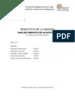 Analisis Semiotico Noticiero