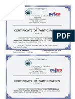 Certificates Journalism Training
