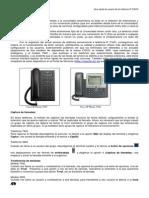 Manual de Usuario Terminales CISCO