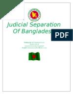 Separation of Judiciary