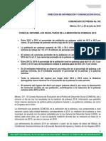 Comunicado005 Medicion Pobreza 2014