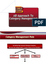 AB Category Management Approach