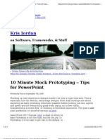 10 Minute Mock Pro to Typing Tips for Power Point Kris Jordan