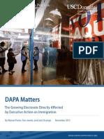 DAPA Matters