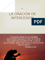 La Oracion de Intercesion