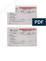 Tarjeta de Propiedad - Ejemplos