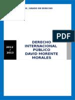 Derecho Internacional Publico David Morente