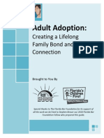 Adult Adoption Booklet With Forms