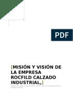 Informe Sobre Mision y Vision ROCFILD