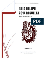 Guia 2015 Resuelta Prueba IPN