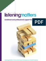 Listening Matters Leaflet
