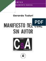 Manifiesto de Cine sin Autor 1.0