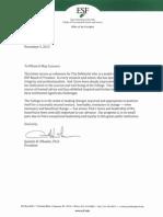 DeMarchi Support Letter
