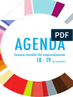 Agenda Semana Mundial Del Emprendimiento 2015