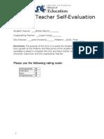 midterm self evaluation