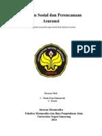 makalah jaminan sosial dan Perencanaan Asuransi.docx