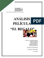 Analisis Pelicula El Regalo