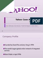 yahoo case study pptx