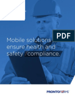 ProntoForms Mobile Solutions Ensure Health and Safety Compliance