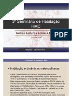 Habitação na Região Metropolitana de Campinas