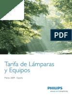 Tarifa de Lamp y Equipos 03 09 b