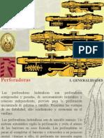 4) Perforadoras