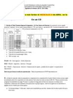 Tarea Ingenieria Economica ABRIL 2015. Periodo 2015