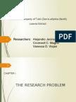 Rodenticidal Property of Tubli (Derris Elliptica Benth