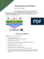 Cara Install Panel Webuzo Di VPS Baru