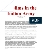 Muslims in the Indian Army