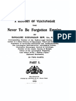 A History of Vijayanagar - The Never to Be Forgotten Empire
