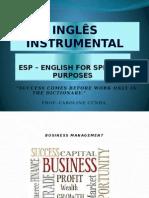 Inglês Instrumental