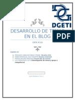 Temas de desarrollo del blog