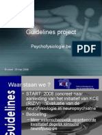 GuidelineII  KCE voorstelling