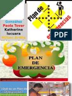 Que Es Un Plan de Emergencias Diapositivas Exposicion