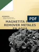 Magnetita Para Remover Metales en Agua