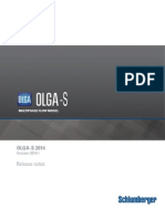 Release Notes OLGAS 2014.1