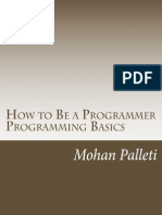 How to Be a Programmer- Programming Basics