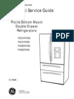 GE Pgss5pjxss Manual