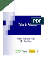 Jornadas Aacc Taller Robotica Junio 13