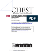 Is the Lateral Decubitus Radio Graph Necessary for the Management of a Parapneumonic Pleural Effusion - Chest-2003-Metersky-1129-32