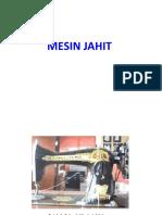 Jahitan Tahun 5-Mesin Jahit