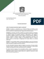 Escrito Autonomia Universitaria