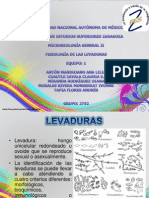 FIisiologia de Las Levaduras