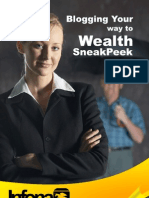 Sneakpeek Blogging Your Way to Wealth