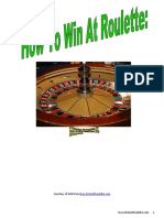How 2 Win at Roulette eBook by Kirk from How2WinAtRoulette.com